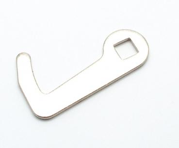 KIJH 50 oder 100 St/ück//Lot Spring Lock Pin Kurbelhaken Angelanschluss Edelstahl Wirbel /& Snap Soft Bait Zubeh/ör Pesca Tackle